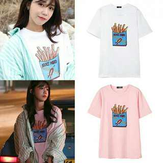 [PO] Apink Jung Eunji Rocket Potato Inspired Graphic Tee