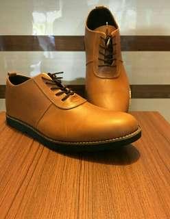 Sepatu Kulit Pentopel Casual Distro Fashion CLS.015