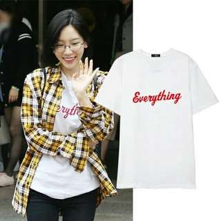"[PO] SNSD Taeyeon ""Everything"" Inspired Shirt"