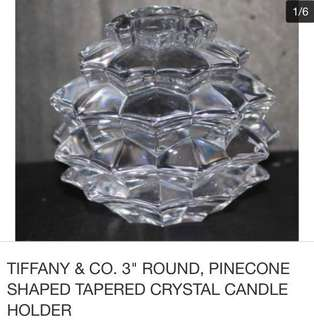 Tiffany &co candle holder