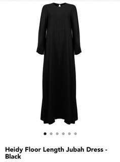 Poplook Curve Heidi Floor Length Jubah Dress