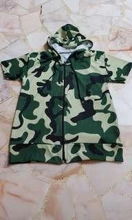 Camo / Army Hoody Jacket