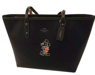 Coach x Disney mickey Mouse Tote Bag