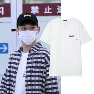 [PO] EXO Chen Inspired Wordings Tee