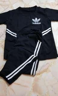 Adidas Set Tshirt and Pants