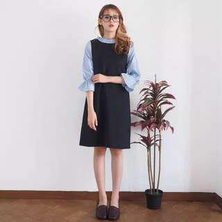 Carina dress BLACK