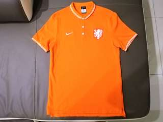 Original Nike Netherlands KNVB Casual Polo-T #UNDER90