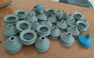 Vacum Suction Cup Pusat Pembuatan Segala bentuk dan ukuran karet seal