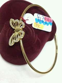 Bangle butterfly design
