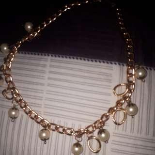 Kalung imitasi pearl