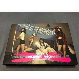 Miss A-Independent Women pt.III(亞洲特別盤)