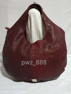 Authentic CNC COSTUME NATIONAL Leather Hobo Bag