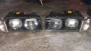 E36 bosch headlamp with corner lamp