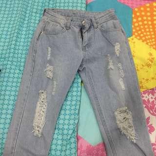 Boyfriend lowrise jeans