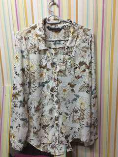 Floral Blouse from Zara