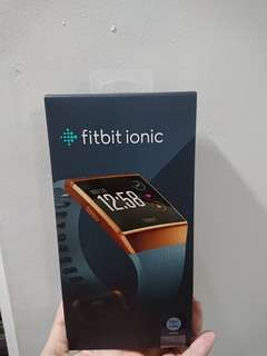Brand new in box fitbit ionic