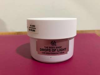 The Body Shop - Drops of light (Day Cream) NEGO