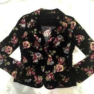 🇰🇷 Corduroy blazer / semi formal cardigan / Size S-M