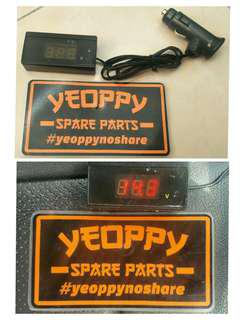 Voltage Digital Meter for Battery