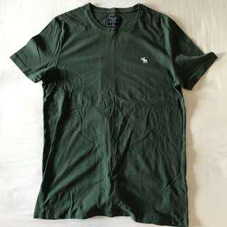 bn abercrombie and fitch logo tee