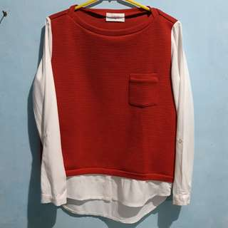 GAUDI RED BLOUSE