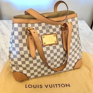 Louis Vuitton Hampstead Shoulder Tote Bag
