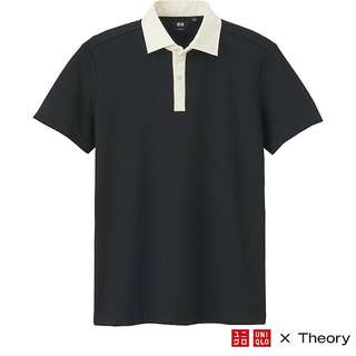 🚚 [BRAND NEW] UNIQLO X THEORY SHORT SLEEVE CLERIC POLO SHIRT
