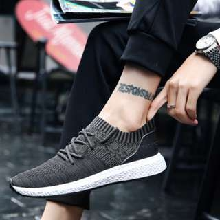(PREORDER) Men's Grey Sneakers