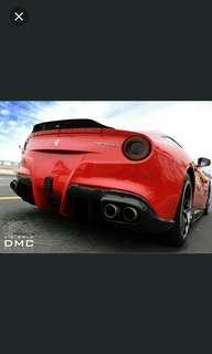Ferrari F12 Carbon Fibre Spoiler DMC