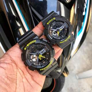 G SHOCK COUPLE LIMITED EDITION WATCH