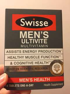Swisse men's ultivite 男士多元複合維他命 14粒