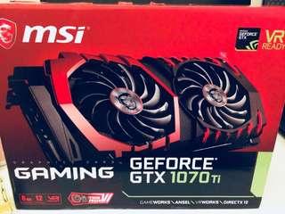 MSI GAMING X GTX 1070 Ti 8GB