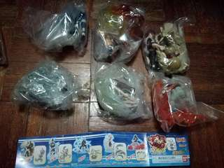 Naruto gashapon set ( 6 figures )