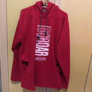 Red Hoodie Size S/M