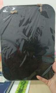 (Bisa barter) Papan tulis tumblr black board + kapur tulis
