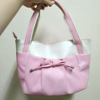 粉白甜美包包 #免購物直接送 #好物免費送