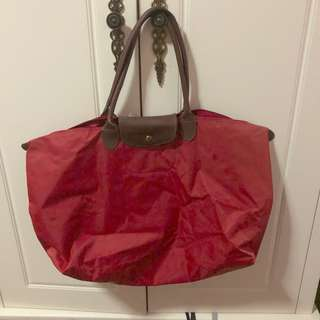 Longchamp Red Large