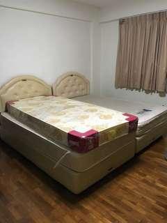 Super single Bed and mattress Free FOC