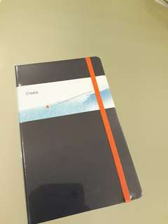 NEW! Moleskin Notebook ❤ Dark Navy Blue