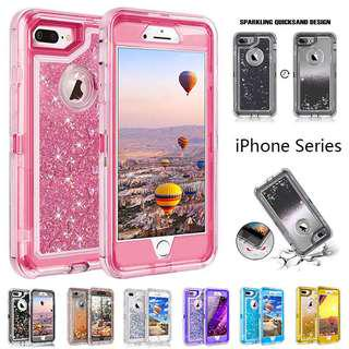 Quicksand Glitter iPhone Case Shockproof Case all units iPhone