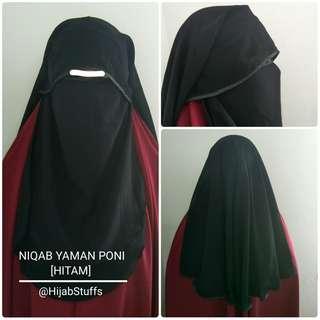 Niqab Yaman Poni