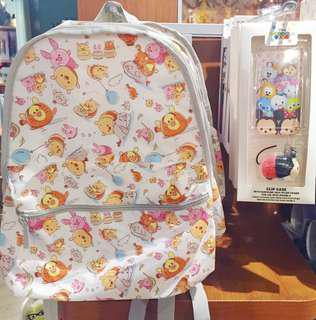 Instock disney Tsum Tsum backpack and iPhone case cover