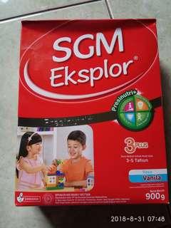 Susu SGM 3+ eksplor muraahhhh