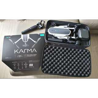 GOPRO KARMA DRONE & CONTROLLER -  WITH KARMA STABILIZER IN CARRYING CASE (NEW)