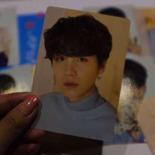 [WTT] BTS Love Yourself Tour Suga Photocard