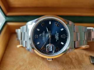 Rolex Oyster Date 15200 Blue Dial