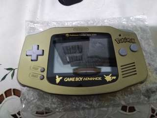 Gameboy Advance Pokemon Center New York Edition