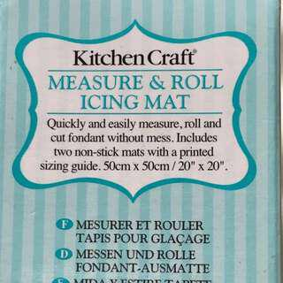 Kitchen Craft Measure and Roll Icing Mat