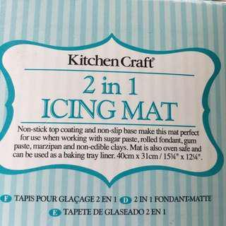 Kitchen Craft 2in1 Icing Mat
