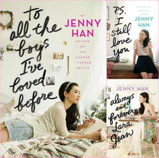 Jenny Han's To All The Boys I've Loved Before Trilogy (eBook)